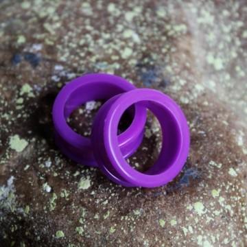Fioletowy silikonowy tunel