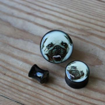 Plug akrylowy - Mops