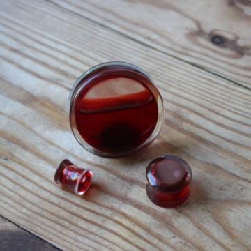 Plug akrylowy - Imitacja krwi
