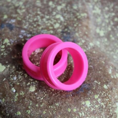 Silikonowy różowy tunel