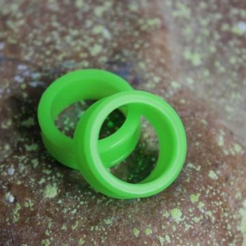 Silikonowy zielony tunel