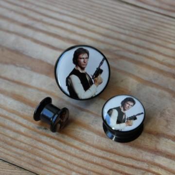 Plug akrylowy - Han Solo