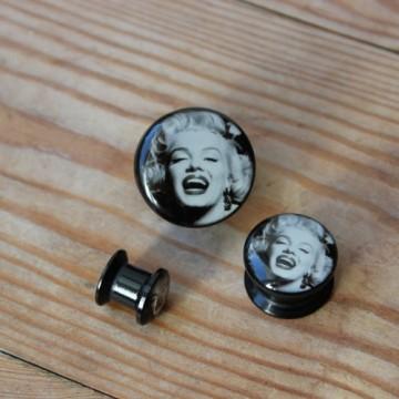 Plug akrylowy - Marilyn Monroe