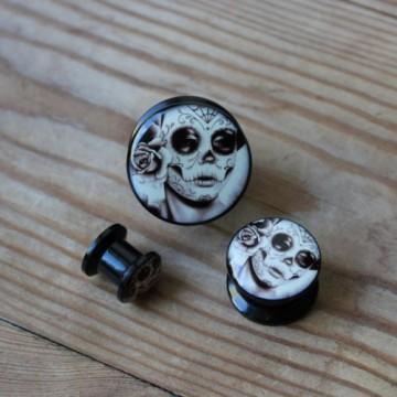 Plug akrylowy - Los Muertos