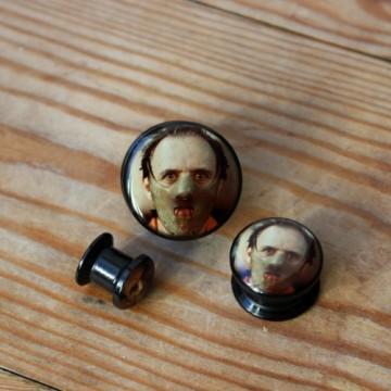 Plug akrylowy - Hannibal Lecter