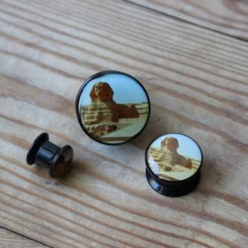 Plug akrylowy - Sfinks (Egipt)