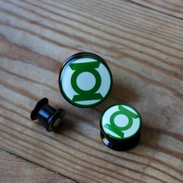 Plug akrulowy Green Lantern