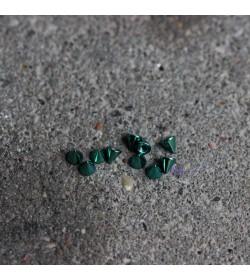 Stożek stalowy anodyzowany ZIELONY