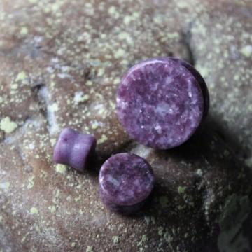 Plug z kamienia półszlachetnego Moon Devite