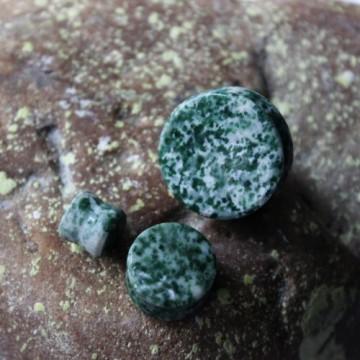 Plug z kamienia półszlachetnego Agat