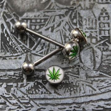 """Sztanga do języka """"marihuana"""""""